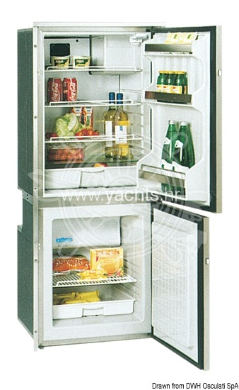 Ship refrigerator - refrigerator isotherm cr195 stainless steel 130