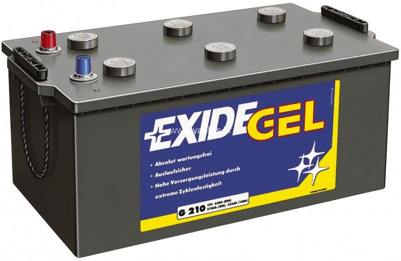 exide gel g210 batteries exide gel batteries exide. Black Bedroom Furniture Sets. Home Design Ideas